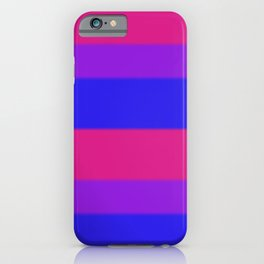 Bisexual Pride Flag v2 iPhone Case