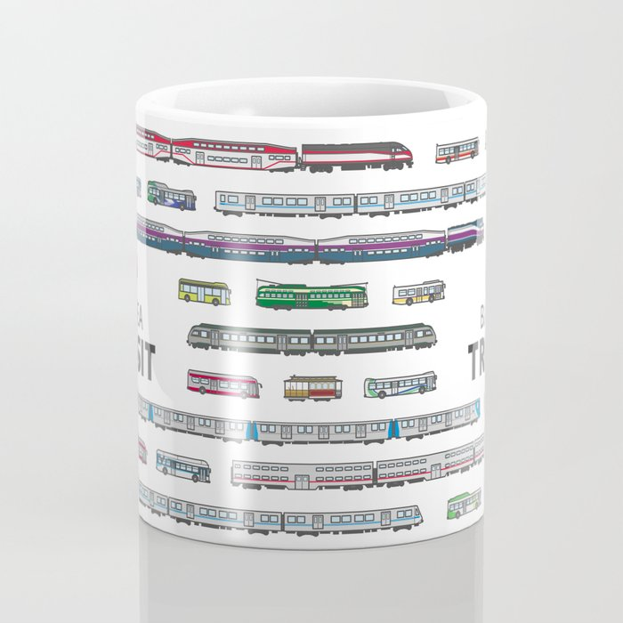 The Transit of the Bay Area Coffee Mug