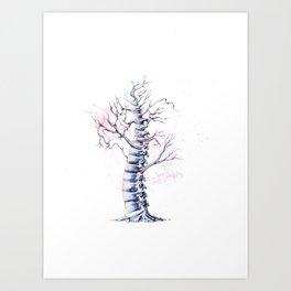 TreeSpine Art Print