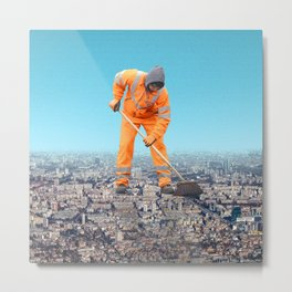 Maintenance City Metal Print