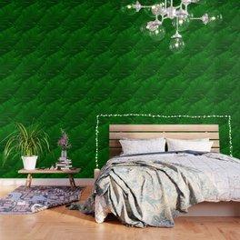 Renaissance Green Wallpaper