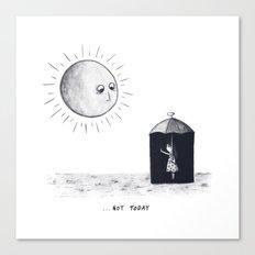 Don't Sunshine On My Rain Parade Canvas Print