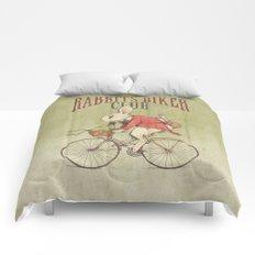 Rabbits Biker Club Comforters