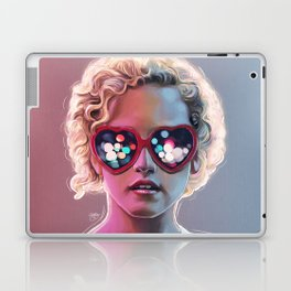 Electrick Girl Laptop & iPad Skin