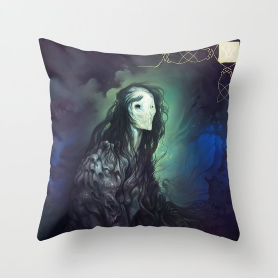 Loreln'widu Throw Pillow