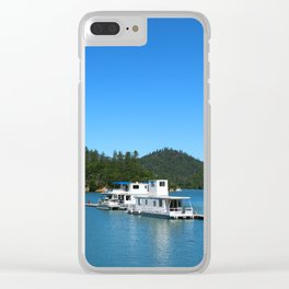 Houseboats On Lake Shasta Clear iPhone Case