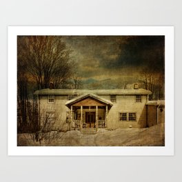 Spring Glen Railway Station Today Art Print