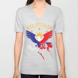 Philippines Filipino Gift Country Manila Vacation Unisex V-Neck