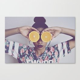 Orange You Happy Canvas Print