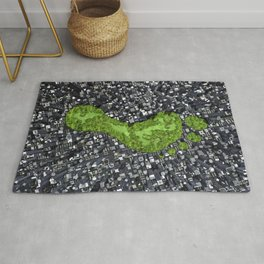 Carbon footprint Rug