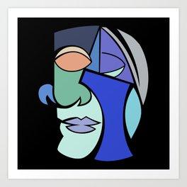 The Face 2 Art Print
