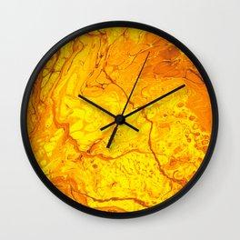Lava is Lit Wall Clock