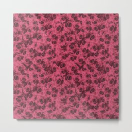 Dusty Roses Metal Print