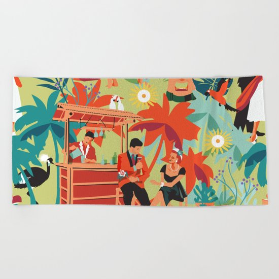 Resort living Beach Towel