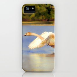 """On the Run""  - Mute Swan iPhone Case"