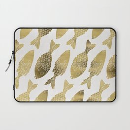 Indonesian Fish Duo – Gold Palette Laptop Sleeve