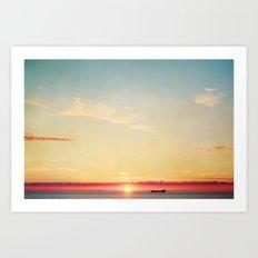 margate sunset 567 Art Print