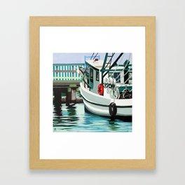 Dock on the Bay Framed Art Print