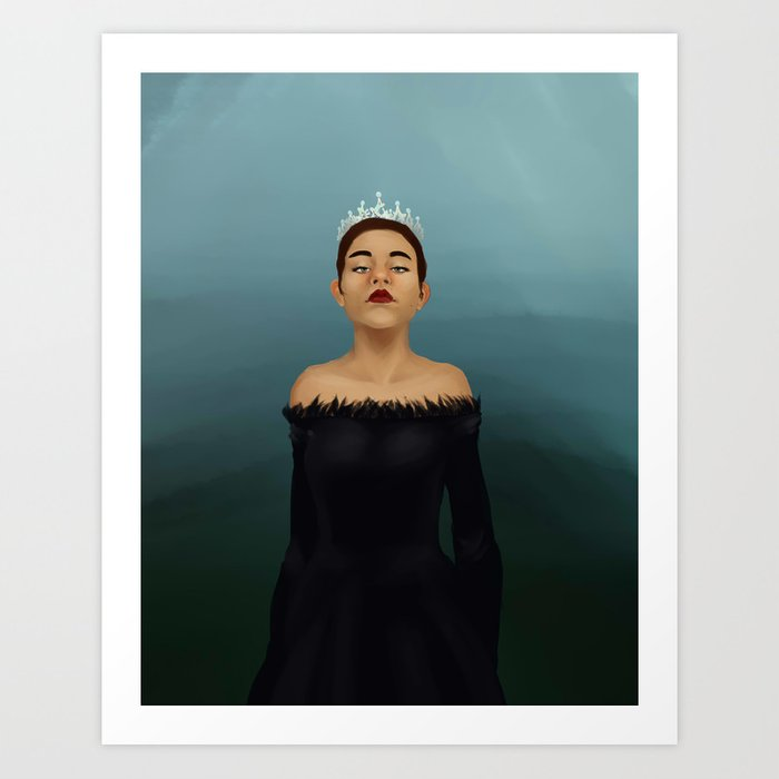 Her Highness Art Print