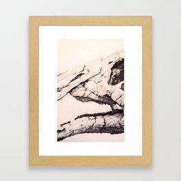 Fracturnal Framed Art Print