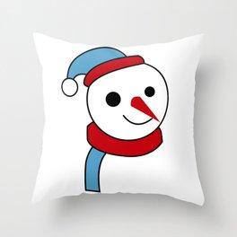 merry christmas vector desiagn Throw Pillow