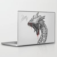 hydra Laptop & iPad Skins featuring Hydra by Sara Saeed