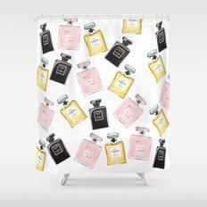 Parfum Pattern Shower Curtain