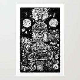 Awakening in Union Art Print