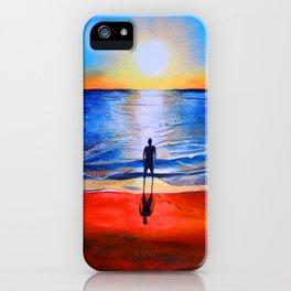 Beach sunset in Cape Leveque, Western Australia iPhone Case