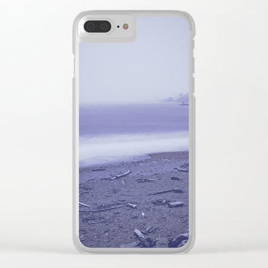 Ocean Secrets Clear iPhone Case