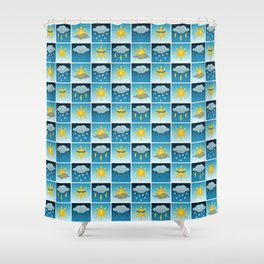 Weather Friends Shower Curtain
