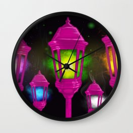 Elemental Luminaries Wall Clock