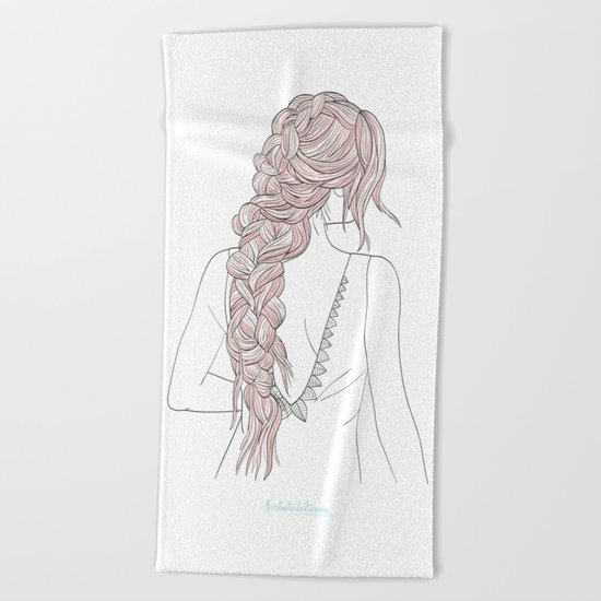 ROSEBRAID Beach Towel