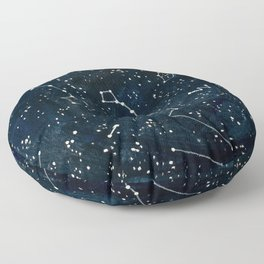 Look to the Stars Floor Pillow