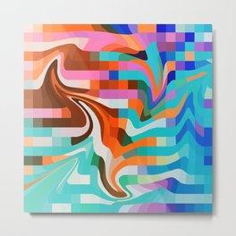 PixelWave2 Metal Print
