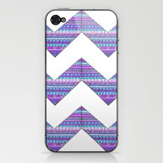 Patterned chevrons iPhone & iPod Skin