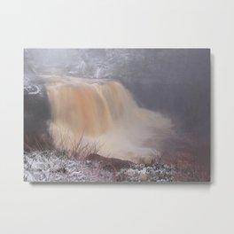 Winter at Blackwater Falls Metal Print
