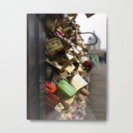 love's padlock Metal Print