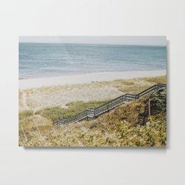 Nantucket Walk  Metal Print