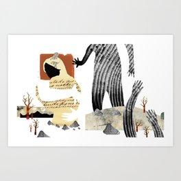 Gabriela Mistral 1 era prosa Art Print