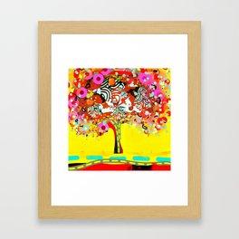calipso fusion tree Framed Art Print