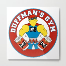 Duffman's Gym Metal Print