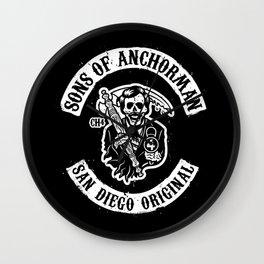 Sons of Anchorman Wall Clock