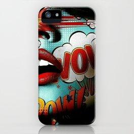 Comic Face iPhone Case