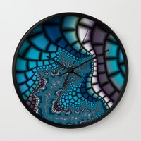 egyptian Wall Clocks featuring Egyptian Goddess by Christy Leigh