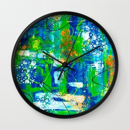 All A Whirl Wall Clock