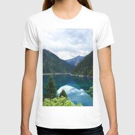 长海 // Long Lake, Jiuzhaigou T-shirt