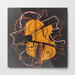 Violin II A Metal Print