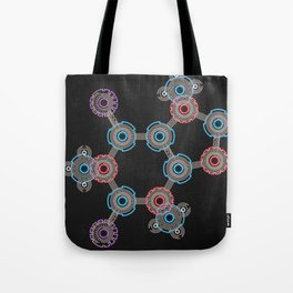 Caffeinated Circuitry Molecule Tote Bag