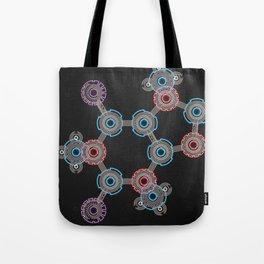 Caffeinated Circuitry Molecule Tote Bag